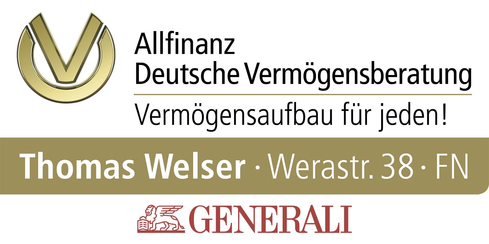 Thomas Welser - Allfinanz Deutsche Vermögensberatung GENERALI